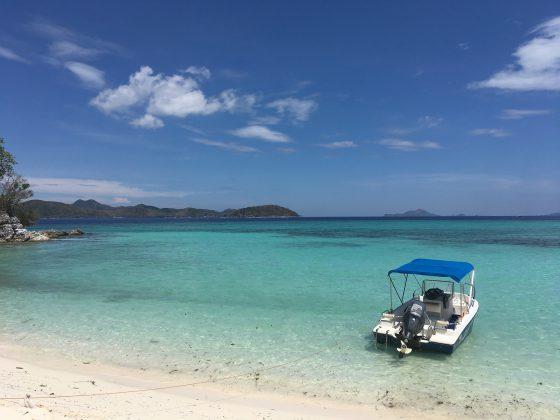 コロン島プライベートツアー Malcapuya island resort