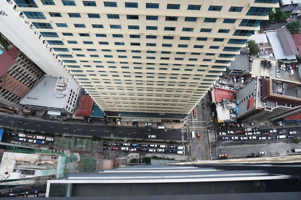 アイムホテルマニラ 部屋からの眺め 3