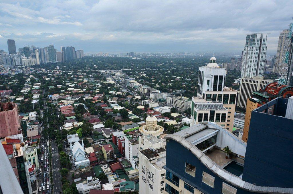 アイムホテルマニラ 部屋からの眺め 2