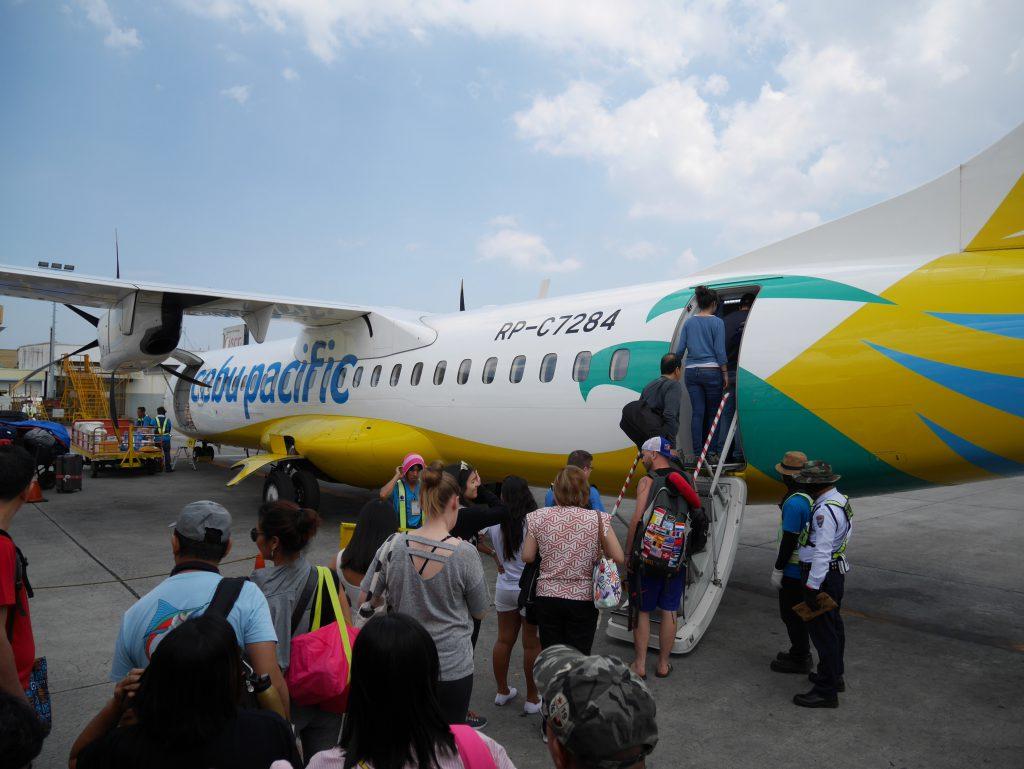 マニラ空港ターミナル4 セブパシフィックへの搭乗