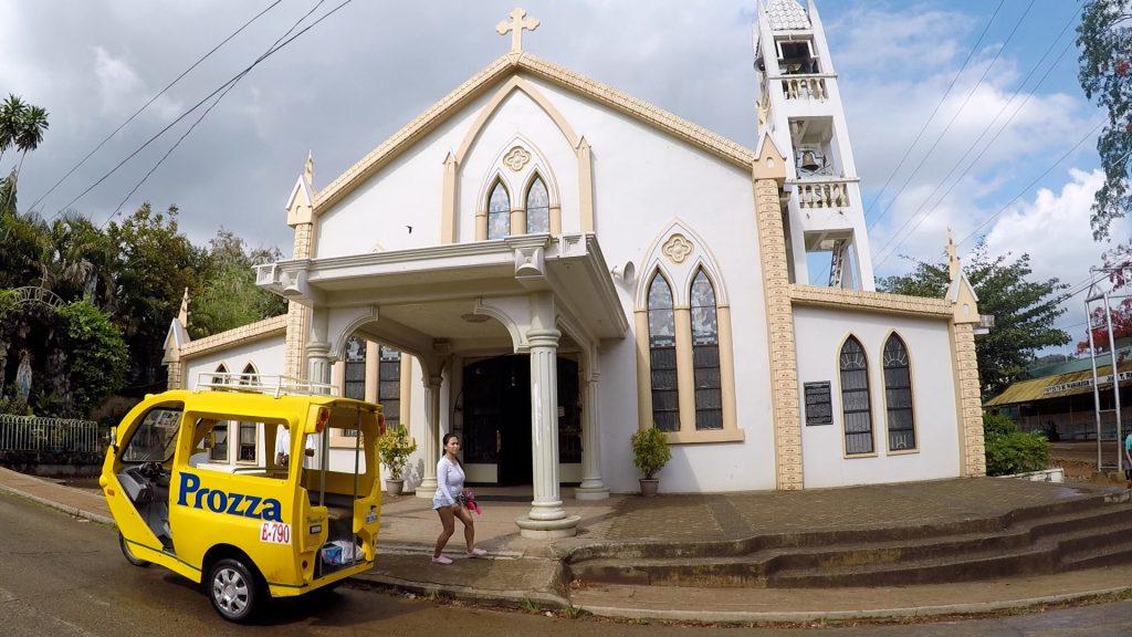 ブスアンガ島のコロンタウン半日観光ツアー(San Agustin Church(サン・アグスティン教会))