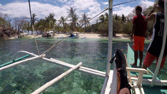 コロン島プライベートツアーで立ち寄った最初の島