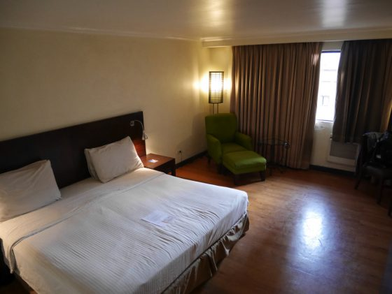 パールガーデンホテル マニラ の客室