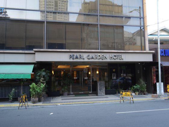 パールガーデンホテル マニラ のビル正面