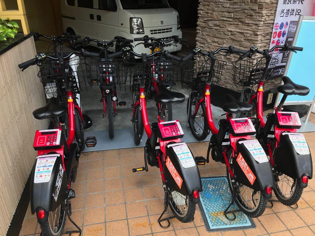 かりゆしLCHホテル 実は自転車が借りられる