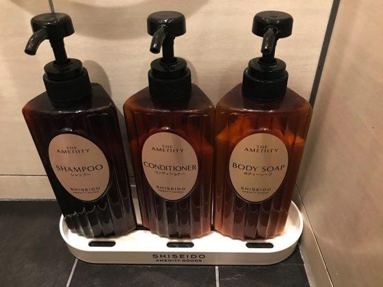 かりゆしLCHホテル シャワー室(石鹸類)