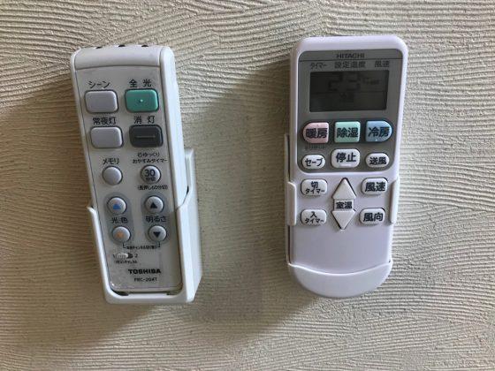 かりゆしLCHホテル 客室エアコンのリモコン