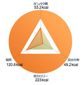 いきなりステーキ・カロリー情報(ハンバーグ100gあたりのカロリーとPFCバランス)