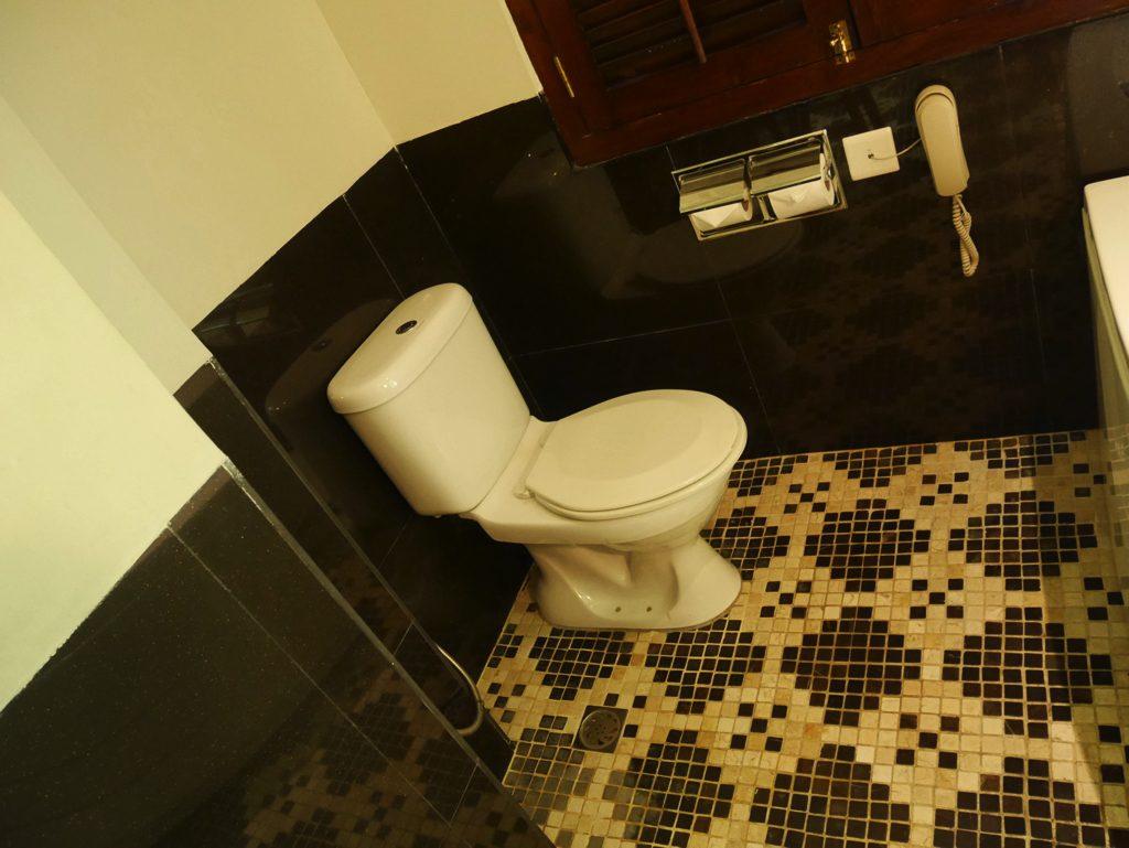 ペナン島ジョージタウンのホテル・ペナガのトイレ