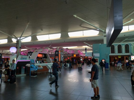 クアラルンプール国際空港 KLIA2 ビル内