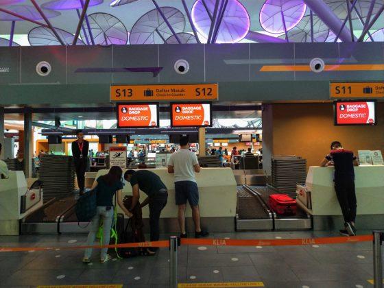 クアラルンプール国際空港 KLIA2 チェックインカウンター