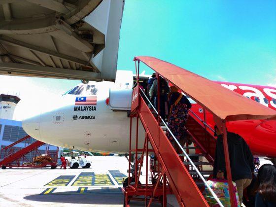 エアアジア AK6125 搭乗