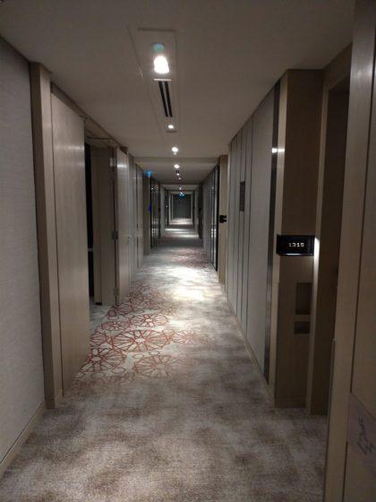 ソフィテル・クアラルンプール・ダマンサラ(廊下)