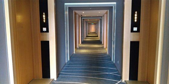 ラマダ スイーツ クアラルンプールの廊下