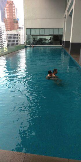 ラマダ スイーツ クアラルンプールのプール
