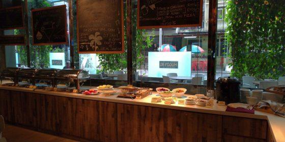 ラマダ スイーツ クアラルンプールの朝食1