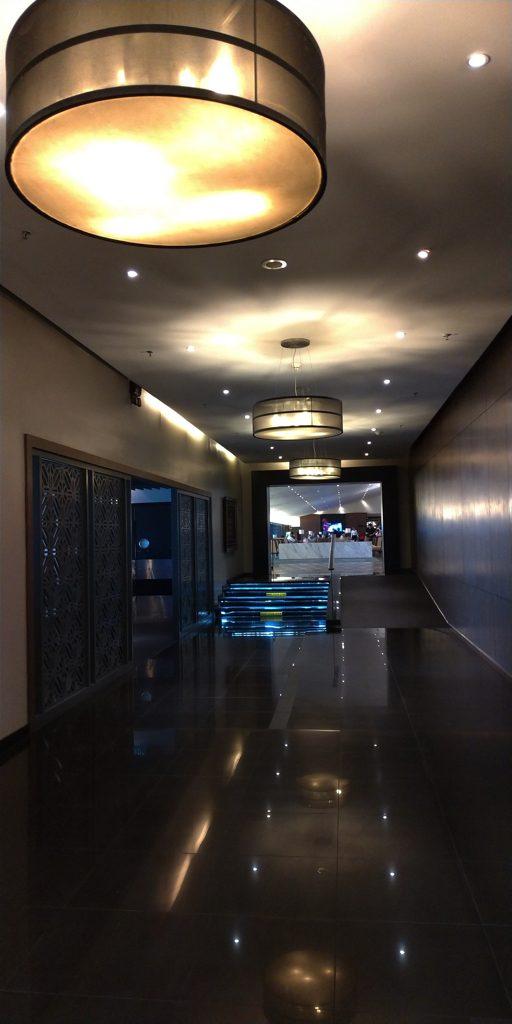 マレーシア航空ゴールデンラウンジの回廊