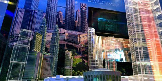 ペトロナスツインタワー 86階のオブジェ2