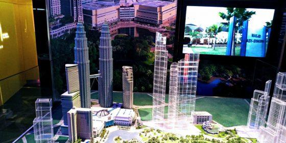 ペトロナスツインタワー 86階のオブジェ3