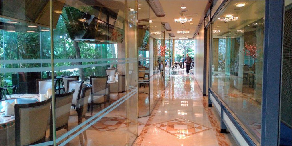 マニラ ダイヤモンドホテル「有楽園」廊下
