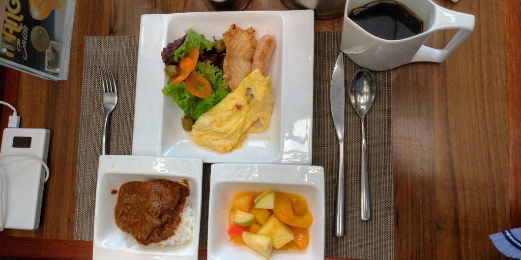 ダイヤモンドホテルマニラの朝食1