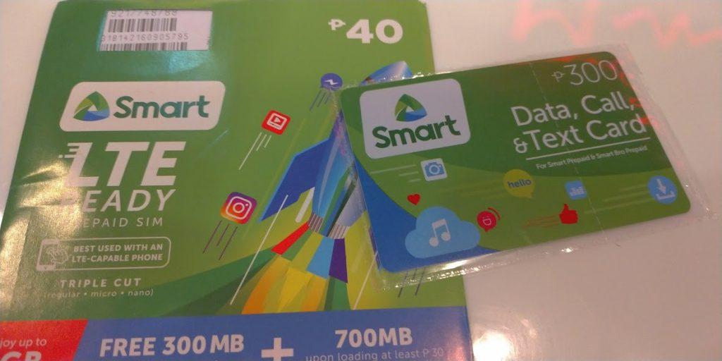 フィリピン Smart(スマート) プリペイドSIMカード
