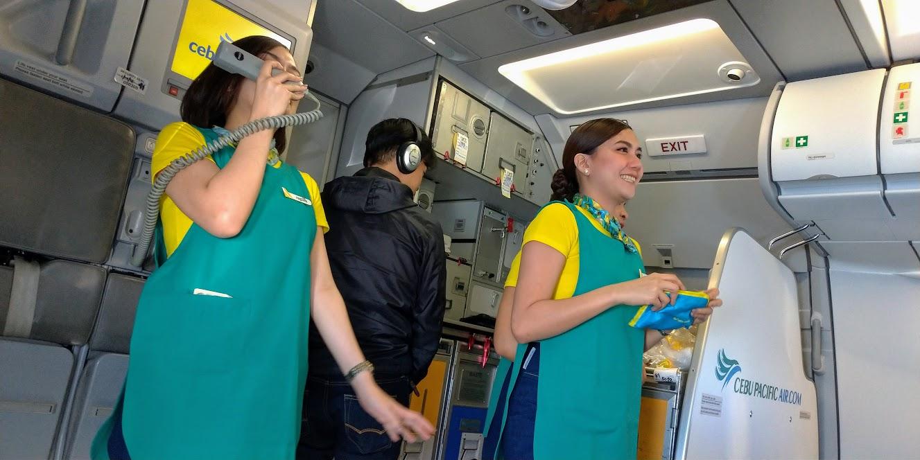 セブパシフィック航空(セブパシ / CEB)の搭乗記 - わりと好きよ