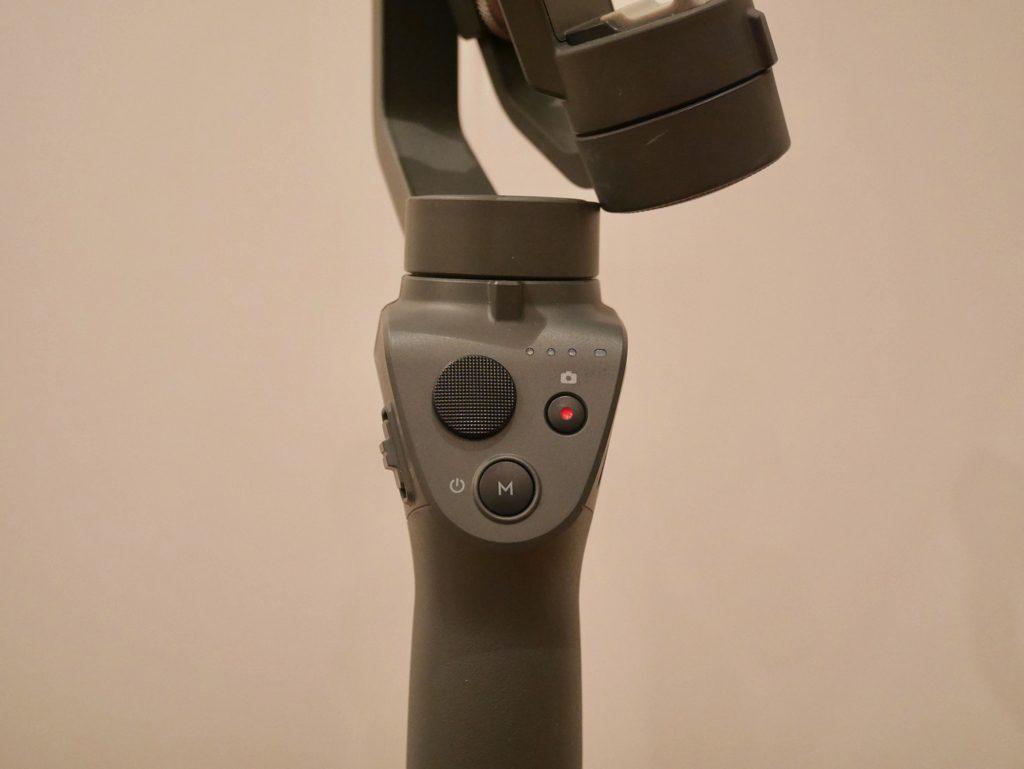 Osmo Mobile2 正面のボタン