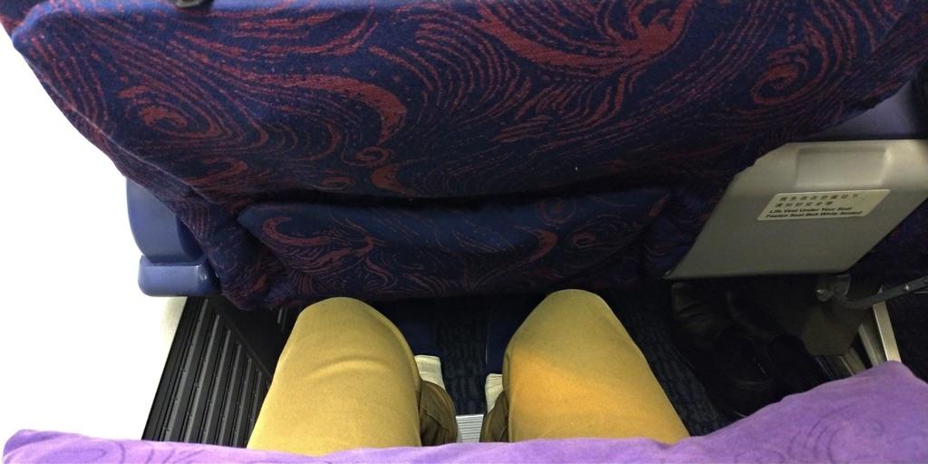 エアチャイナ CA903搭乗記 - 座席