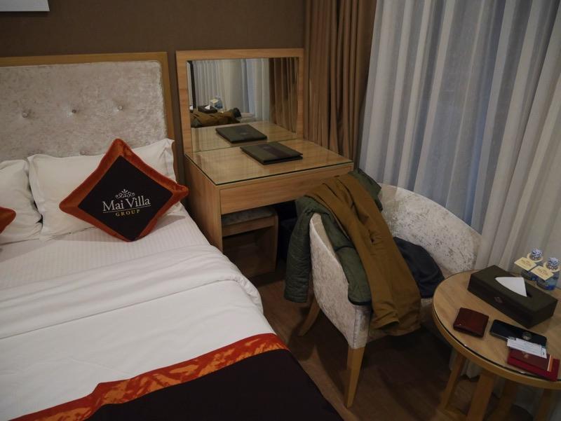 マイヴィラ・ホテル・エアポート客室デスク