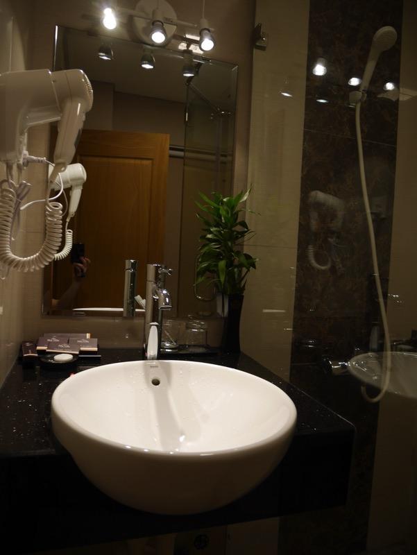マイヴィラ・ホテル・エアポート客室シャワールーム