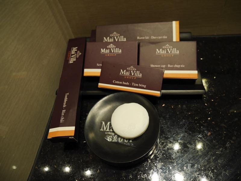 マイヴィラ・ホテル・エアポート客室シャワールーム・アメニティ