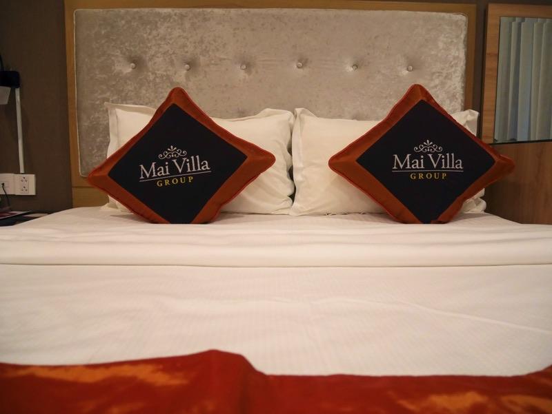 マイヴィラ・ホテル・エアポート客室ベッド