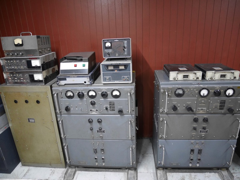 統一会堂 地下内部の機械類
