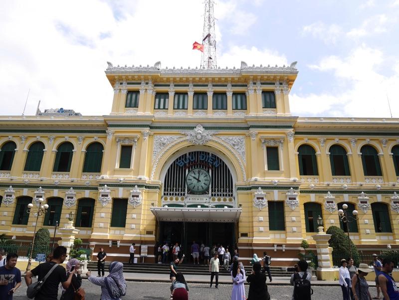サイゴン中央郵便局 外観