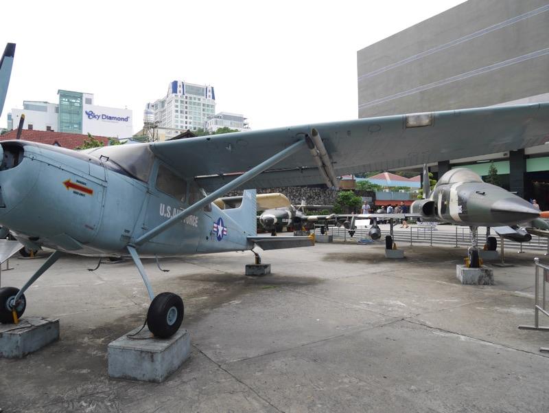 戦争証跡博物館 飛行機