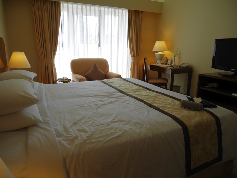 ノーフォークホテルの客室(ベッド)