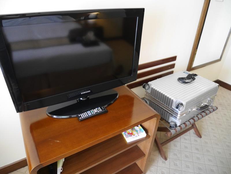 ノーフォークホテルの客室(テレビ)