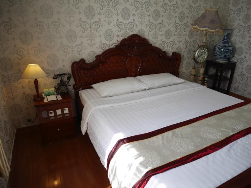 ビクトリーホテルサイゴン の客室(ベッド)