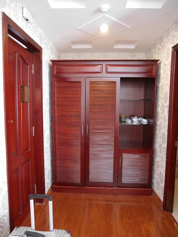 ビクトリーホテルサイゴン の客室(クローゼット)