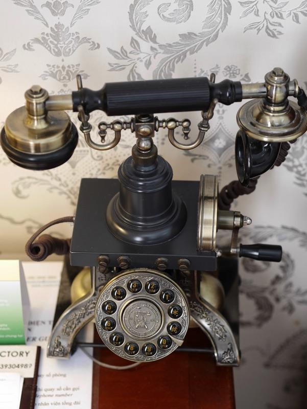 ビクトリーホテルサイゴン の客室(電話)