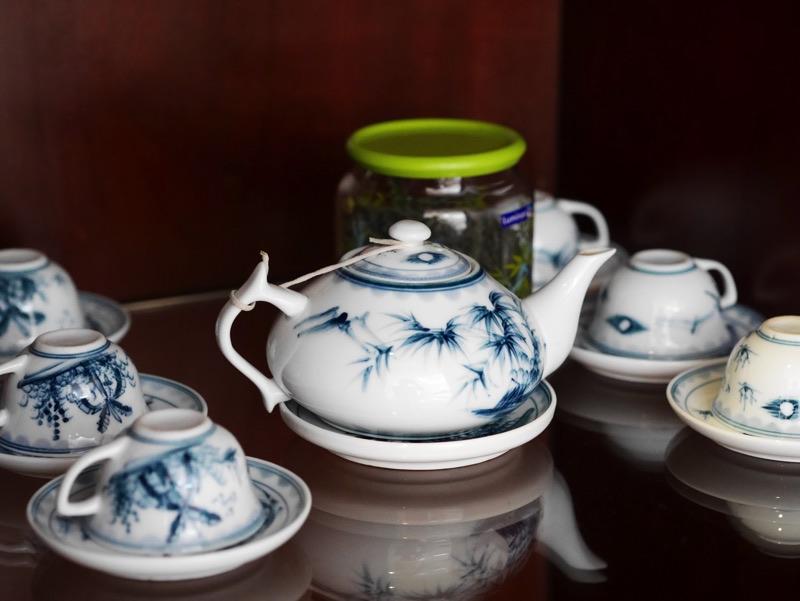 ビクトリーホテルサイゴン の客室(お茶)