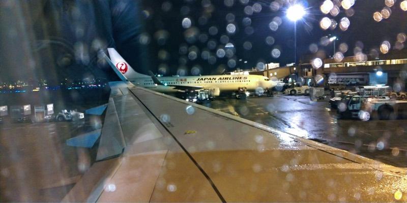 スターフライヤー北九州便(NH3887)への搭乗