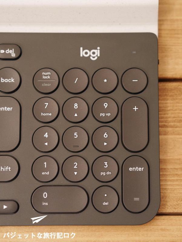 キーボードが複数接続できるマルチペアリング対応のロジクール K780レビュー( テンキー付き)