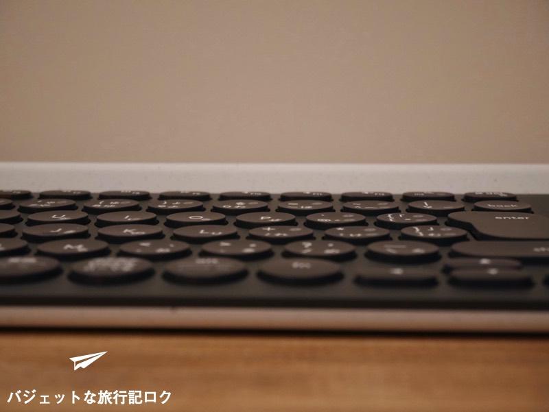 キーボードが複数接続できるマルチペアリング対応のロジクール K780レビュー(キーは浅めのデザイン)