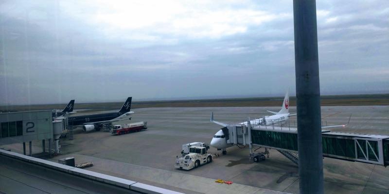 北九州空港(KKJ)展望デッキからの風景