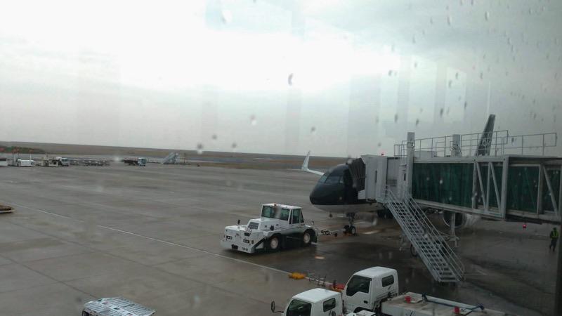 北九州空港(KKJ)帰りの便への搭乗