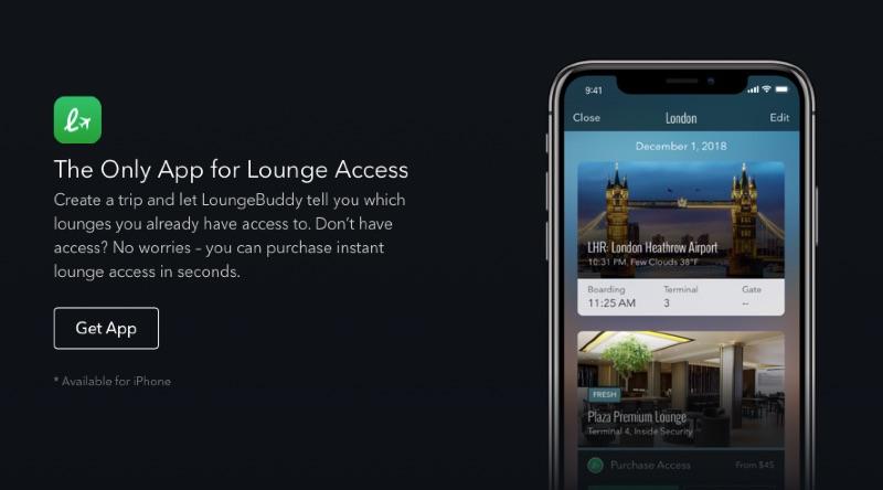 空港ラウンジを有料で利用できるラウンジバディ(LoungeBuddy)