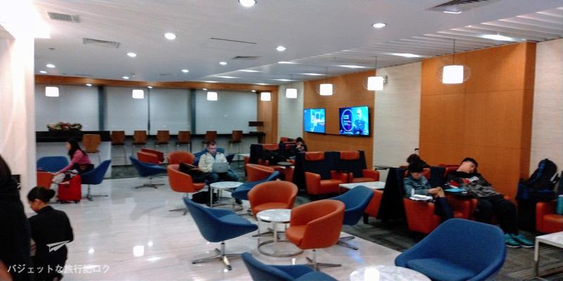 マニラ空港ターミナル3パシフィックラウンジ