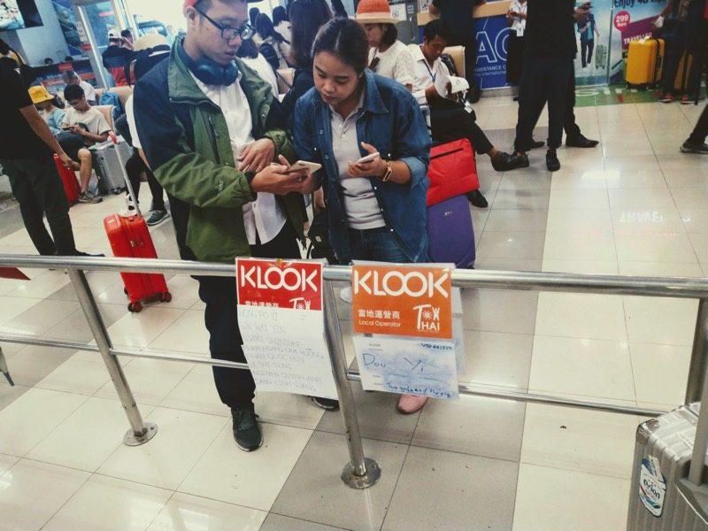 マニラ・ニノイアキノ国際空港から市内への移動手段・アクセス方法(Klookスタッフの待機様子)
